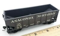 HO Scale Model Train Anaconda Northern 1227 Hopper w/ Spring  Knuckle Couplers