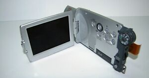 Complete LCD Screen with Lateral Body Panel Part for Canon Optura XI