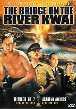The Bridge On The River Kwai ~ William Holden Alec Guinness ~ DVD FREE Shipping