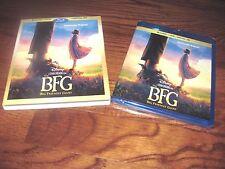 The BFG: Blu-ray+DVD+Digital HD Big Friendly Giant, Spielberg ] New+I Ship Fast