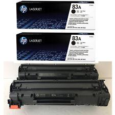 2PK Genuine HP 83A CF283A Black Toner Cartridge LaserJet Pro M225DN M127fn NEW