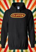 Clutch Classic Logo Stoner Rock Band Men Women Unisex Top Hoodie Sweatshirt 2204
