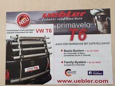 Uebler Fahrradträger VW T6  für 4  Fahrräder NEU