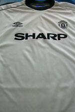 MANCHESTER UNITED S/S Football Shirt  size XXL . UMBRO   FREE UK P+P ...........