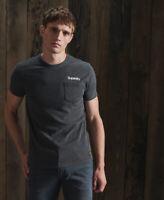Superdry Mens Core Logo Canvas T-Shirt
