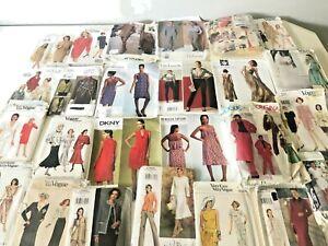 VINTAGE VOGUE DESIGNER sewing patterns x 26