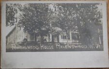 Ravenswood, WV 1905 Realphoto Postcard: Ravenswood House - West Virginia
