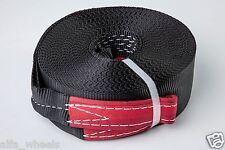 """3"""" 6.5 TON Tow Strap 60 ft winch sling off-road ATV UTV recovery free shipping"""