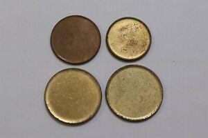 ERROR COINS/BLANK DISC LOT OF 4 COINS B33 KKK29