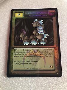 Magi Nation Duel - TUNNEL HYREN Underneath Awakening Rare Foil