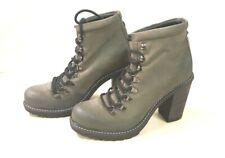 ё 407) Luxus DIESEL Designer Marken Boots Schuhe Stiefel Gr.40 Leder NP210€ NEU