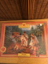 Firelight 550 PC jigsaw puzzle by Donna Gelsinger USA Masterpieces. New. Sealed