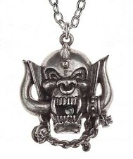NWT Motorhead: War Pig Band Pendant Pewter Necklace Alchemy Gothic Rocks PP505