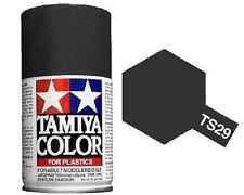 Tamiya TS-29 SEMI GLOSS BLACK Spray Paint Can 3 oz 100ml 85029 Naperville