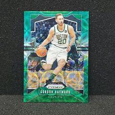 2019-20 Prizm Gordon Hayward 1/8 Choice Green Refractor Celtics MW
