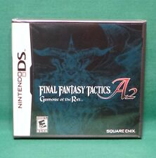 Final Fantasy Tactics A2: Grimoire of the Rift (Nintendo DS 2008) Factory Sealed