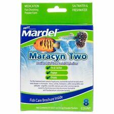 Fritz Mardel Maracyn Two 2 Fast Dissolve 8 Pack FRESH or SALT water treatment