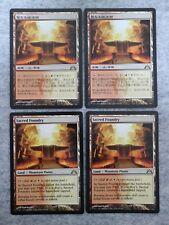 MTG LOT 4 x Sacred Foundry Gatecrash LIGHTLY PLAYED