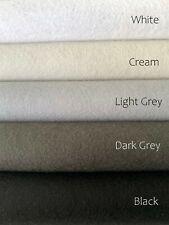 De Witte Engel 100% Wool True Felt 20 cm x 30 cm x 1.2 mm / Various Colours NEW!