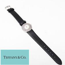 NYJEWEL Tiffany & Co 18K White Gold Atlas Diamond Watch
