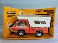Vintage Structo Steerable Camper Truck Pressed Steel Toy NIB 435-1 Model
