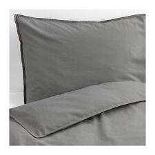 Ikea Angslilja Full/Queen Duvet Cover Gray Bedding ÄNGSLILJA 903.186.45