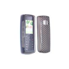 Funda de silicona TPU transparente para Nokia X1-01, X1-00, Color: Negro