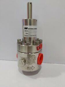 Swagelok RSHB8-02-9-NNK-A-GB Pressure Regulator 0-280 Bar NOV P/N 96395+71