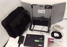 GMPCS Personal Communications Nera Would Communicator modem antenna unit w/ bag