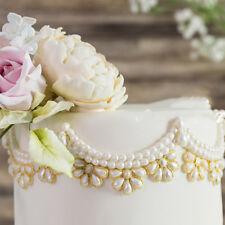 Pearl Jewelry Pendant Sugarcraft Silicone Fondant Cake Decorating Baking Mold