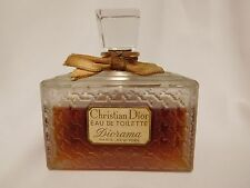 Vintage CHRISTIAN DIOR DIORAMA  4 oz Eau de Toilette, Large Bottle, Rare, Sealed