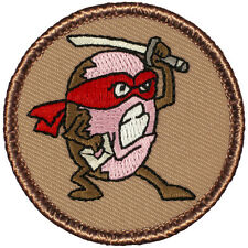 Cool Boy Scout Patrol Patch! - #738 The Ninja Donut Patrol!
