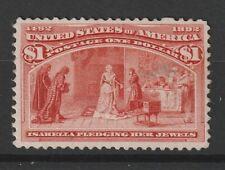 USA 1893 Columbus Scott # 241 well centered vf MINT
