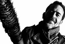 A3 Walking Dead Poster – Negan (Picture Poster Rick Zombie Daryl Glenn Morgan)