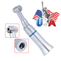 NSK Style E-Type Dental Contra Angle Push Button Low Speed Handpiece Burs Motors