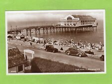 The Pier Cleethorpes Motor Car  RP pc unused  Constance Ref E477