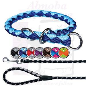 TRIXIE Cavo Dog Choker & leash nylon round Assorted sizes & colours available