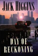 DAY OF RECKONING Jack Higgins 1st Edition 2000 Espionage Hardcover & Jacket