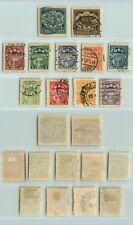 Latvia  1921  SC  101  112  used. d666