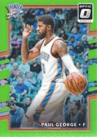 2017-18 Donruss Optic Lime Green #102 Paul George 152/175 Oklahoma City Thunder