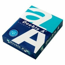 Double A White Paper - 8.5x11-22 lb.  Smooth Finish.  1 Ream (500 sheets)