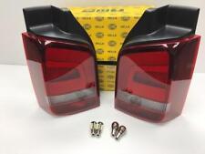 VW T5 Sportline Rear Lights Smoked 03 - 15 Set Genuine HELLA OEM ( Bulbs)