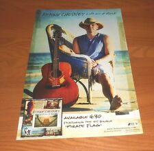 Kenny Chesney Life on a Rock Promo 2013 Poster 11x17
