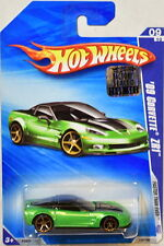 HOT WHEELS 2009 FASTER THAN EVER '09 CORVETTE ZR1 #09/10 GREEN FACTORY SEALED