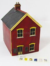 OO Gauge SCENIX EM6109 STATIONMASTERS HOUSE MODEL RAILWAY BUILDING 1:76