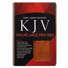 KJV LP Lux-Leather Brown Portf (2016, Hardcover)