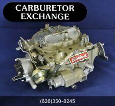 1904 Edelbrock Quadrajet Remanufactured Carburetor 795 CFM