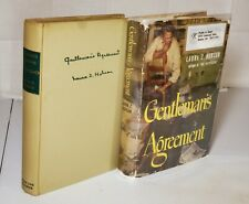 GENTLEMAN'S AGREEMENT by Laura Z. Hobson (Vintage 1947 Book Club Edition) VG+