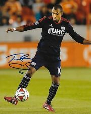 Teal Bunbury signed New England Revolution 8x10 photo autographed MLS Soccer 2