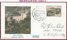 ITALIA FDC ROMA VILLE D'ITALIA VILLA NITTI MARATEA 1985 ANNULLO Y888